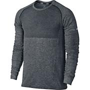 Men's LS Seamless Shirt - Black