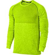 Men's LS Seamless Shirt - Yellow
