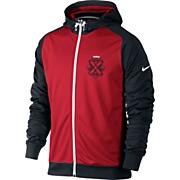 Men's Lebron Carbonado Fz hoody - Red