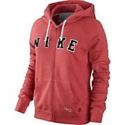 Women's Rally Ad Zip Hoody - Red