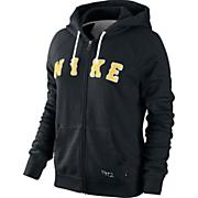 Women's Rally Ad Zip Hoody - Black