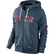 Women's Rally Ad Zip Hoody - Blue