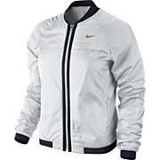 Women's Bomber Jacket - White