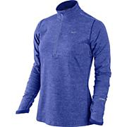 Women's Element Half Zip Long Sleeve Top - Purple