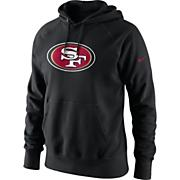 Men's 49ers Wordmark Fleece - Black
