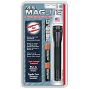 Mini Maglite Black AA Holster Flashlight