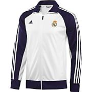 Men's Real Madrid Core Track Jacket - White