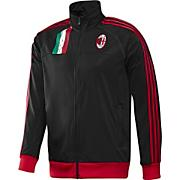 Men's AC Milan Core Track Jacket - Black
