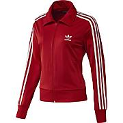 Women's Adi Firebird Track Top - Red