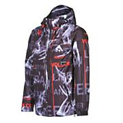 Men's Construct Jacket - Black Patterned