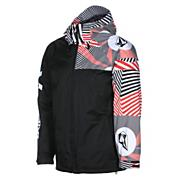 Men's Cross Stone Insulated Jacket - Black Patterned
