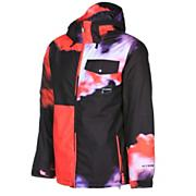 Men's Discourse Insulated Jacket - Black Patterned
