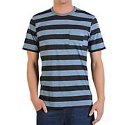 Men's Othercircle Crew S/S Tee - Blue Patterned