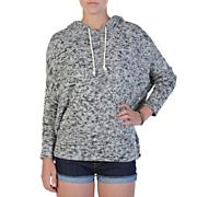 Women's Mob Barley Hoodie - Light Gray