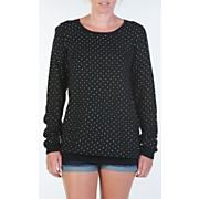 Women's Girl Trouble Sweater - Black