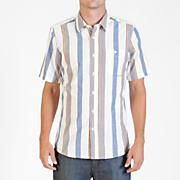 Men's Memento S/S Woven - White Patterned