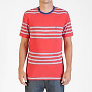 Men's Circle Square Crew S/S Tee - Red