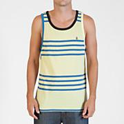 Men's Circle Square Tank - Yellow
