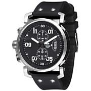 USS Observer Chrono Watch - Black / Silver