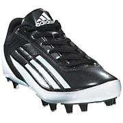 Youth Lightning Fly Low Football Cleat - Black