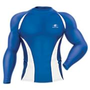 Qualifier Compression L/S Shirt - Royal Blue / Sapphire
