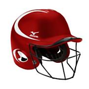 Fastpitch MVP G2 Batting Helmet w/ Mask - Red