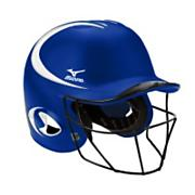 Fastpitch MVP G2 Batting Helmet w/ Mask - Royal