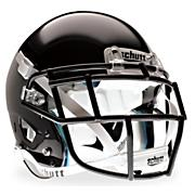 Youth XP Hybrid Football Helmet - Black
