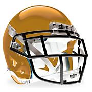 Youth XP Hybrid Football Helmet - Metallic Vegas Gold