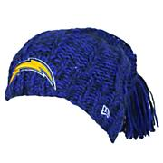 Women's Chargers Winter Slouch Beanie