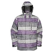 Men's 3D System Jacket - Gray Patterned