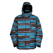 Men's Sentinel Jacket - Blue Patterned