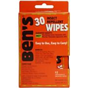 30 Tick & Insect Repellent Travel Wipes