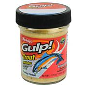 Gulp! Trout Dough - Natural Salmon Egg Scent - Chunky Cheese