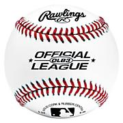 12 Official League Baseballs in Bag