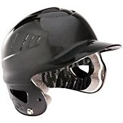 CoolFlo Batting Helmet - Metallic Black