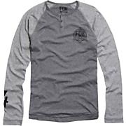 Men's Forbes L/S Henley Knit - Gray