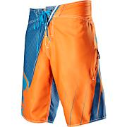 Men's In Flight Boardshort - Fluorescent Blue