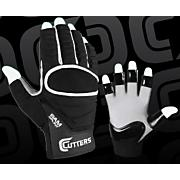 Half-Fingered Lineman Glove - Black