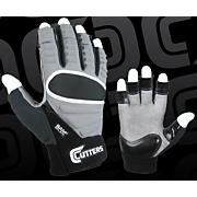 Half-Fingered Lineman Glove - Gray