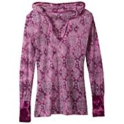 Women's Julz Hoodie - Purple Patterned