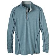 Men's Talon Mock Neck Pullover - Denim Blue