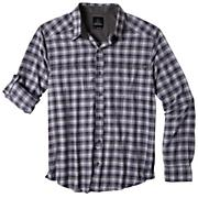 Men's Dickson S/S Shirt - Purple Patterned
