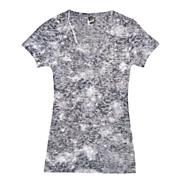 Women's Sublimation V-Neck - Black