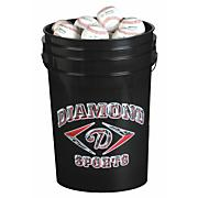 6 Gallon Bucket with 2 Dozen Official League Balls