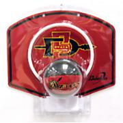 SDSU Ball & Hoop Set - Black