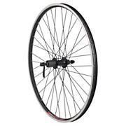 REAR WHEEL 26x1.75 QR BLK/BLK 9SPD CASSETTE