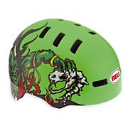 Fraction Paul Frank Bike Helmet - Green Demon