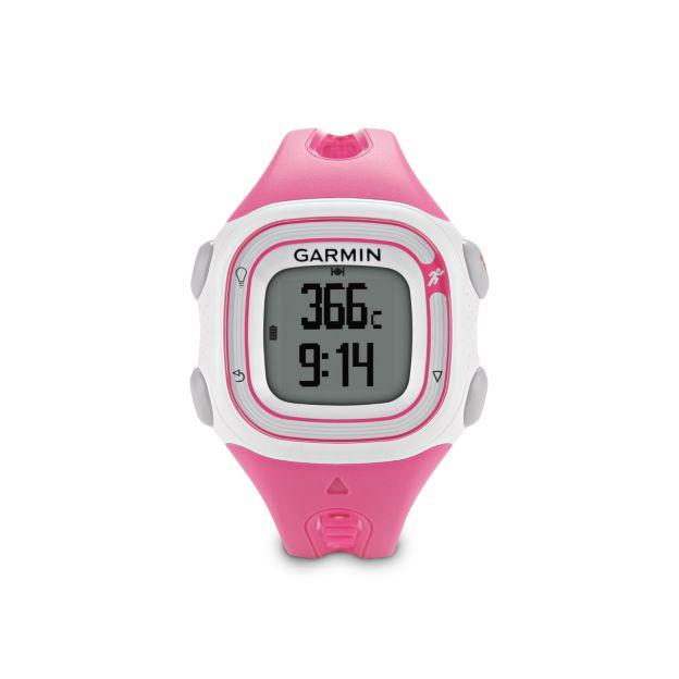 garmin forerunner 10 gps running pink white