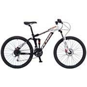 XC104 Mountain Bike - White and Black